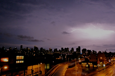 Vancouver storm, August 8th, 2012
